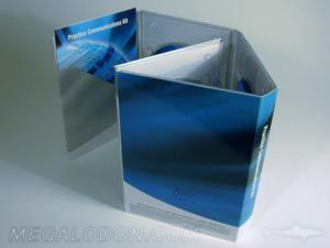 dvd digipal multidisc set gatefold 10pp tall 4 clear trays