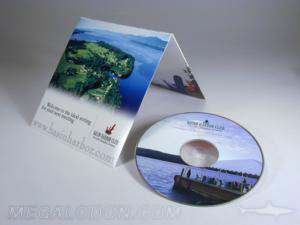 custom cd dvd jacket vertical fold 4pp