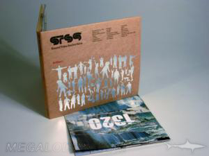 silver foiling fiberboard paper digipak cd dvd packaging