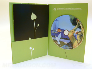 eco friendly dvd jacket recycled paper plastic free recycled paper