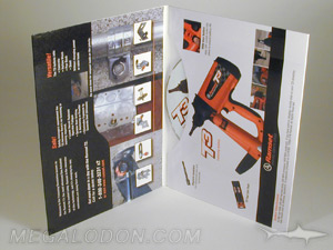 tall dvd mailer packaging pinch pocket