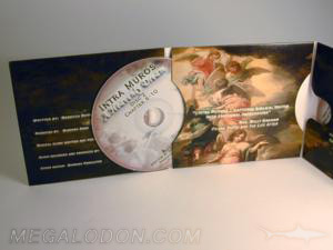 custom cd jacket 6pp 3 cd set packaging
