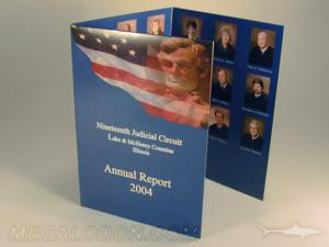 tall dvd jacket full color printing 4C/4C Trifold