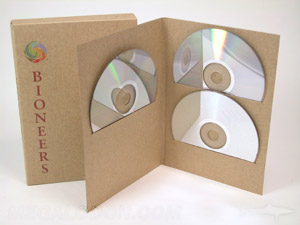 multidisc slipcase set 3 disc fiberboard