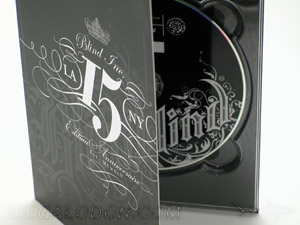 digipak spot gloss matte lamination cd dvd packaging