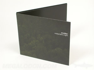 uncoated paper packaging cd dvd jacket
