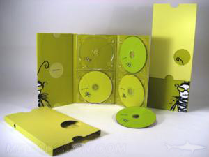 digipak dvd set tall 6pp multidisc set slipcase die cut