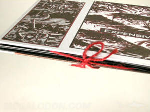 string tie dvd book packaging custom speciality