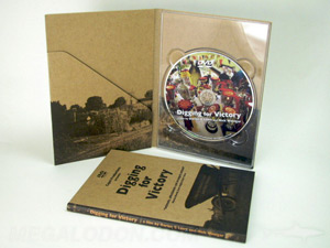 fiberboard dvd digipak tall unbleached recycled paper