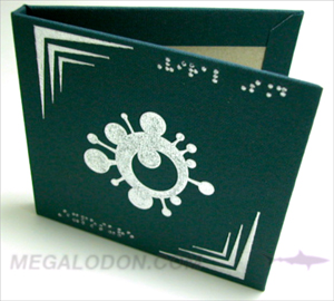 metallic ink printing on linen material fabric cd vd vinyl usb gift box