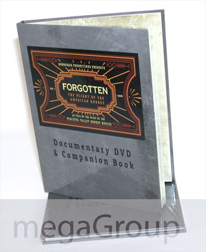 dvd book hard cover