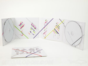 digipak cd 8pp 2 disc set