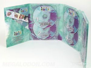 digipak dvd set 6 disc cd set