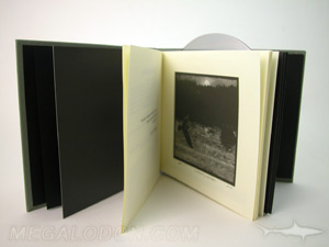 uncoated inner pages kraft paper lining book cd dvd disc