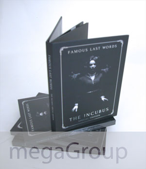 dvd book tray inner pages hardbound