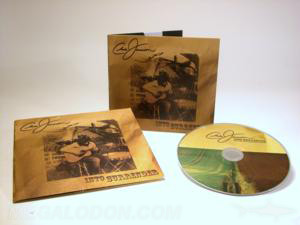 sepia tone cd jacket retro look jacket packaging