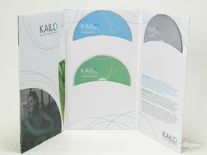 custom jacket cd dvd packaging tall 6pp curved pocket 4 disc set multidisc booklet