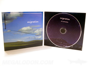 custom cd jacket diagonal pocket booklet foam hub