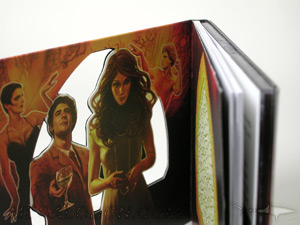 die cut digipak cd packaging shape cut out