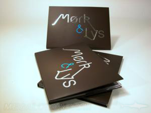silver foil stamping dvd packaging blue foiling