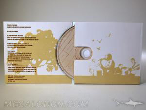 uncoated cd jacket matte packaging