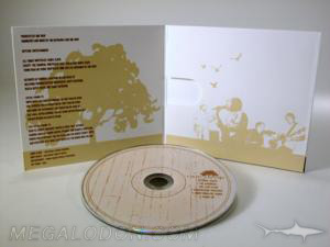 special paper uncoated recycled paper cd packaging disc