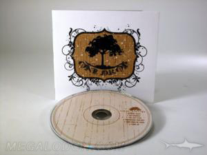 matte recycled uncoated paper printed packaging cd dvd disc packaging