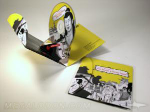 pop up pak cd dvd packaging speciality custom