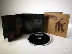 cd jacket LP style packaging