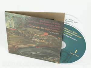 cd LP set double disc fiberboard color printing