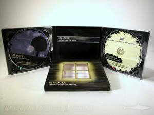 digipak cd dvd 2disc set die cut slipcase window