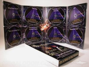 multidisc digipak set 8 disc set tall digipak 8 trays