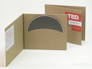 cd fiberboard jacket curved disc pocket sticker