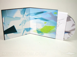 cd LP hardbound board material core inner wrap
