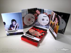 multidisc digipak set slipcase 4 disc 2 volumes book