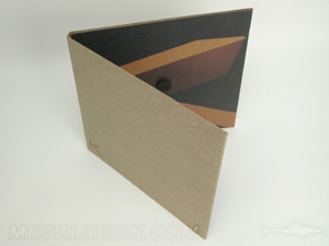 custom dvd jacket packaging fiberboard magnetic closure foam hub