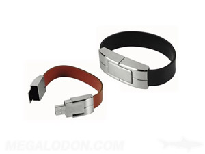 usb manufacturing leather bracelet
