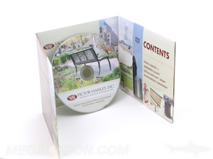 custom cd jacket 6pp brochure