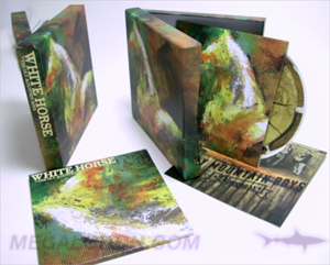 deluxe cd box set  chipboard core art cards