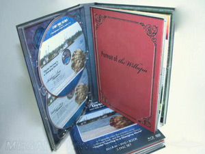 dvd book set 4 disc hard cover digibook packaging