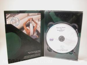 digipak dvd diagonal pocket left side clear tray right side 4C/4C printing