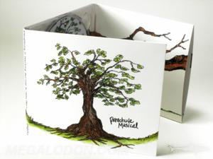 matte uncoated paper digipak 6pp tube pocket