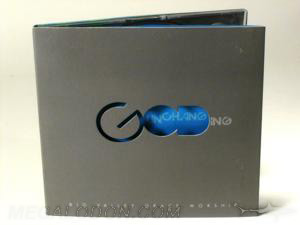cd digipak die cut lettering god christian media packaging