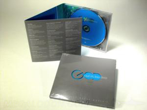 cd digipak die cut lettering god cut out christian publishing