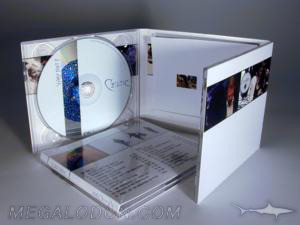 digipak cd 6pp 2 disc set slot pocket center booklet