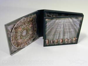 digipak cross packaging multidisc set 4 - 5 discs