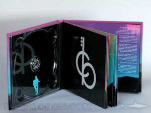 hardbound cd book tray inner pages