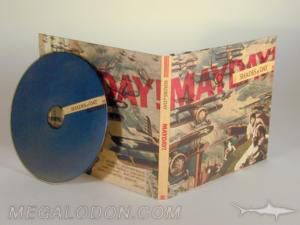 matte digipak cd uncoated paper stock vintage look