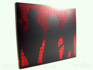 red foil stamping digipak cd dvd foiling