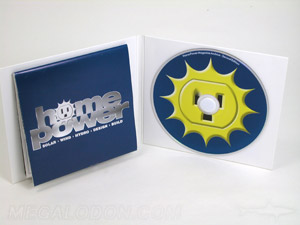 custom cd jacket packaging foam hub fold out poster 32pp